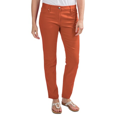 Colored Skinny Jeans - Stretch Cotton (For Women)