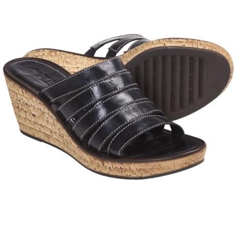 The Flexx Step In Sandals - Wedge Heel (For Women)