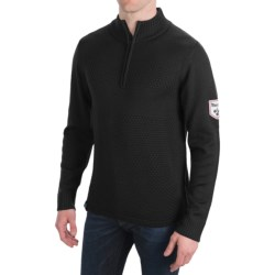 Meister Rugby Sweater - Zip Neck (For Men)