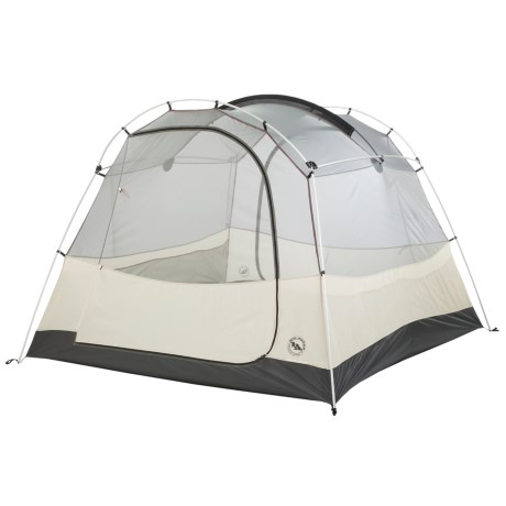 Big Agnes Wolf Mountain Tent - Footprint, 4-Person, 3-Season