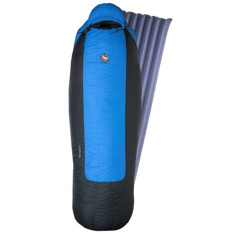 Big Agnes 0°F Storm King Down Sleeping Bag with Sleeping Pad - Long, 650 Fill Power