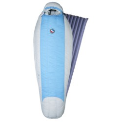 Big Agnes 15°F Fria Down Sleeping Bag with Sleeping Pad - Petite, 600 Fill Power (For Women)