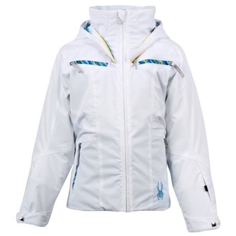 Spyder Knockout Jacket - Insulated (For Girls)