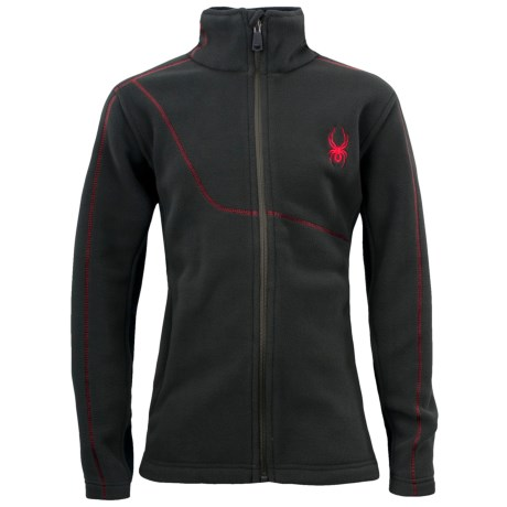 Spyder Speed Jacket - Fleece (For Boys)