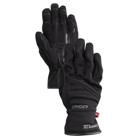 Spyder Facer Ski Gloves - Microfleece, Windproof (For Boys)