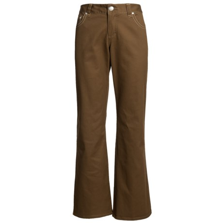 Nomadic Traders Textured Twill Jeans (For Women)