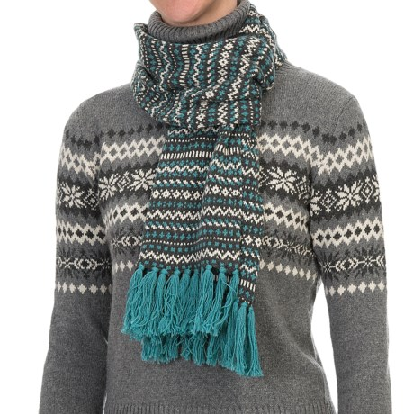 Nomadic Traders Winter Solstice Scarf (For Women)