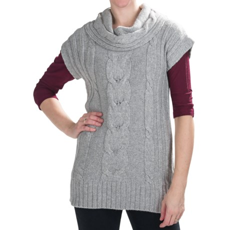 Nomadic Traders Winter Solstice Sweater Vest - Short Sleeve (For Women)