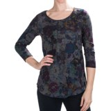 Nomadic Traders Savvy Studio Prints Tunic Shirt - 3/4 Sleeve (For Women)