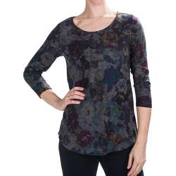Nomadic Traders Savvy Studio Prints Tunic Shirt - 3/4 Sleeve (For Women)