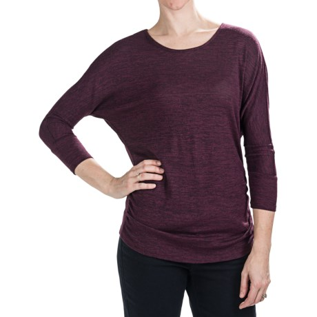 Nomadic Traders Savvy Larkspur Knit Shirt - Long Sleeve (For Women)
