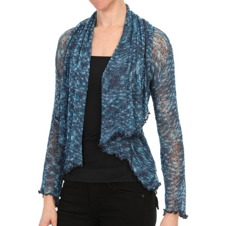 Nomadic Traders Waterfall Cardigan Sweater - Gossamer Mesh (For Women)