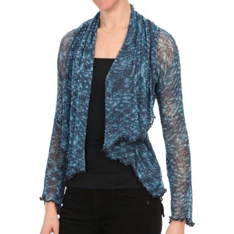 Nomadic Traders Waterfall Cardigan Sweater - Gossamer Mesh (For Women)