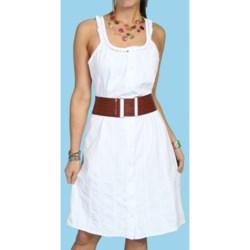 Scully Southern Belle Pamela Tank Dress - Pima Cotton, Sleeveless (For Women)