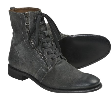 John Varvatos Ago Side Zip Boots (For Men)