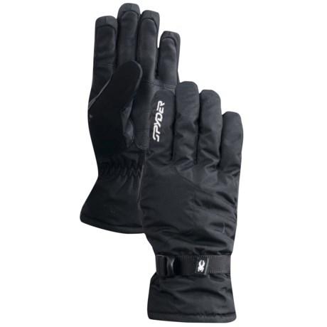 Spyder Titan Gore-Tex® Ski Gloves - Waterproof, Insulated (For Men)