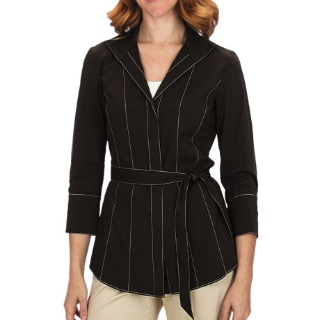 Lafayette 148 New York Lane Shirt - 3/4 Sleeve (For Women)