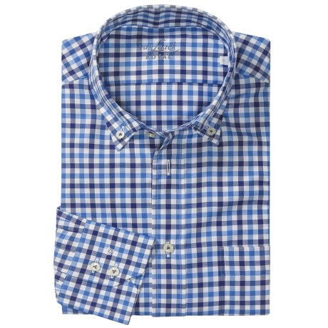 Van Laack Ron Cotton Shirt - Button Down, Long Sleeve (For Men)