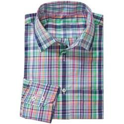 Van Laack Rondo Cotton Shirt - Spread Collar, Long Sleeve (For Men)