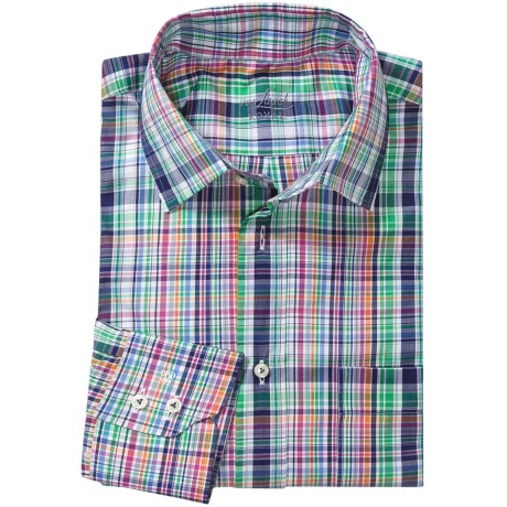 Van Laack Rondo Cotton Shirt - Spread Collar, Long Sleeve (For Men)