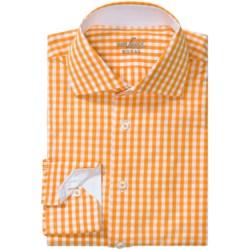 Van Laack Rivara Multi-Check Shirt - Tailor Fit, Spread Collar, Long Sleeve (For Men)