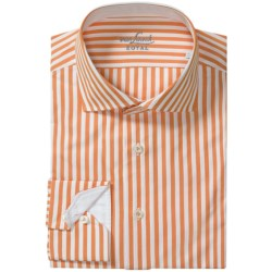 Van Laack Rivara Multi-Stripe Shirt - Tailor Fit, Spread Collar, Long Sleeve (For Men)