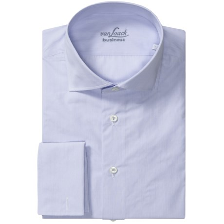 Van Laack Rivara French Cuff Shirt - Spread Collar, Long Sleeve (For Men)