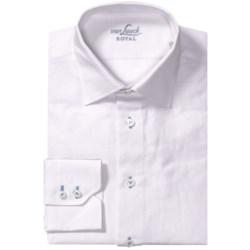 Van Laack Ret Shirt - Linen-Cotton, Tailor Fit, Long Sleeve (For Men)