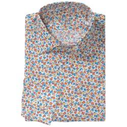 Van Laack Ret Cotton Print Shirt - Long Sleeve (For Men)