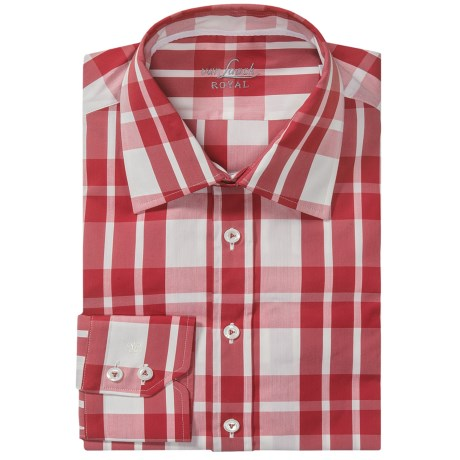 Van Laack Remco Cotton-Nylon Shirt - Slim Fit, Long Sleeve (For Men)