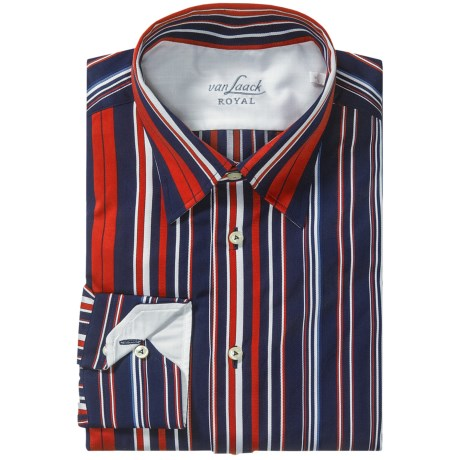 Van Laack Radici Shirt - Tailor Fit, Long Sleeve (For Men)