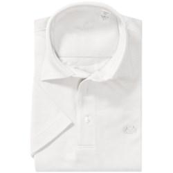 Van Laack Pio Cotton Polo Shirt - Short Sleeve (For Men)