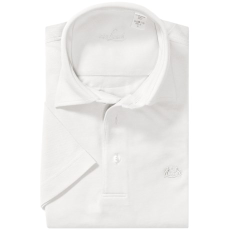Van Laack Pio Cotton Polo Shirt - Short Sleeve (For Men)