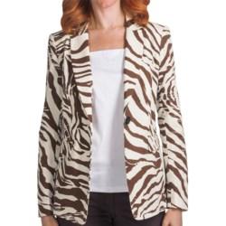 Lafayette 148 New York Antibes Canvas Cloth Mackenzie Jacket (For Women)