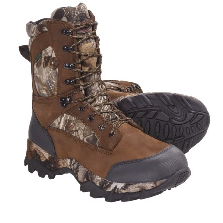 "Winchester 61614 Camo Hunting Boots - 10"", Waterproof, Insulated (For Men)"