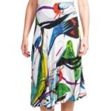 Casual Studio Knit Jersey Skirt (For Women)