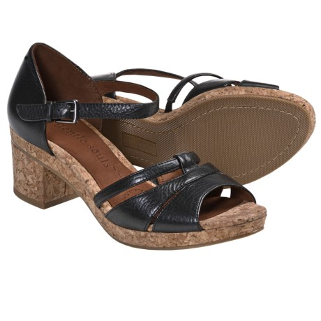Gentle Souls Mello Tone Platform Sandals (For Women)