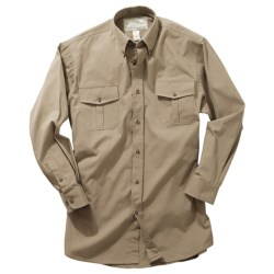 Boyt Harness Safari Shirt - Cotton Poplin, Long Roll-Up Sleeve (For Men)