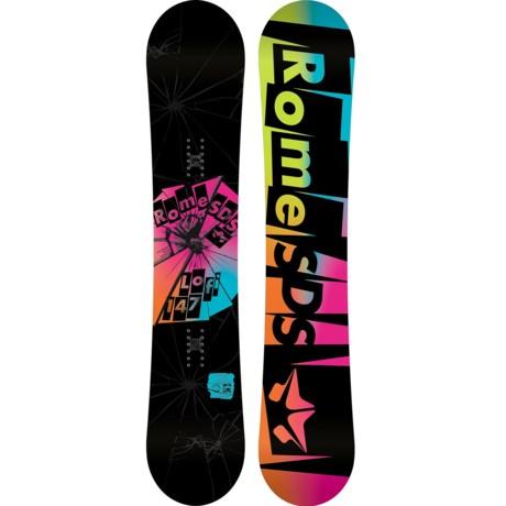 Rome Lo-Fi Rocker Snowboard (For Women)