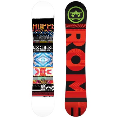Rome Reverb Rocker Snowboard - Wide