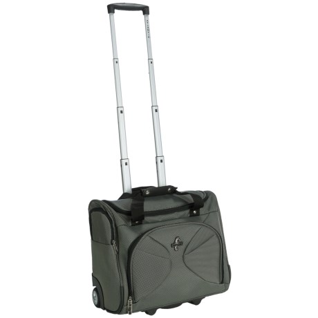 Atlantic Graphite Lite 3 Rolling Tote Bag - Carry-On