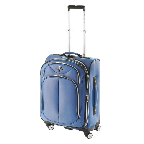 """Atlantic Odyssey 2 Expandable Spinner Suitcase - 21"""", Carry-On"""