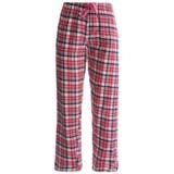 Northwest Blue Plaid Lounge Pants - Flannel (For Women)