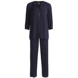Carole Hochman Midnight Timeless Love Pajamas - Stretch Modal, Long Sleeve (For Women)
