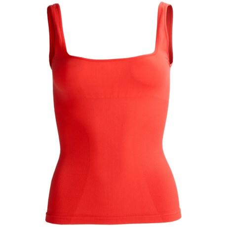 CASS Shapewear Skinny Tank Top - Scoop Neck (For Women)