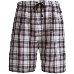 Monte Carlo Polo & Jockey Club Plaid Shorts - Cotton (For Men)