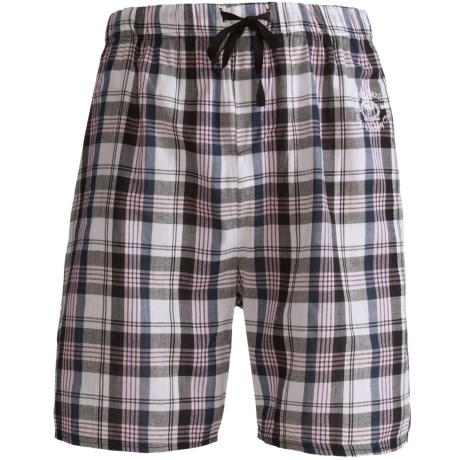 Monte Carlo Polo & Jockey Club Plaid Shorts - Cotton (For Men)