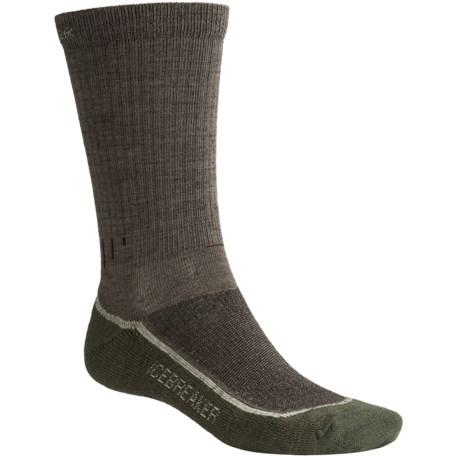 Icebreaker Hike Lite Socks - Merino Wool, Crew (For Men)