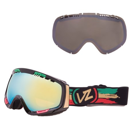 Von Zipper Feenom Snowsport Goggles - Interchangeable Lens, Asian Fit