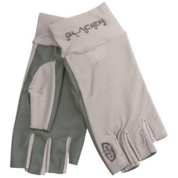 Glacier Glove Dr. Shade Ascension Bay Sun Gloves - Fingerless, UPF 50+ (For Men and Women)
